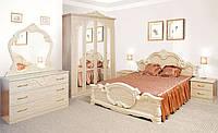 Деревянная кровать Империя, 160х200см, цвет Роза, 2 сп.