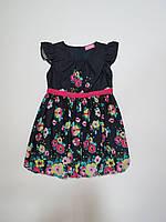 Летнее платье для девочек 98р-122р