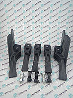 Комплект зубов на ковш экскаватора JCB 3cx, 4cx, Volvo BL71