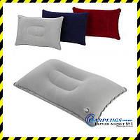 Дорожня надувна подушка прямокутної форми Silenta, grey, фото 1