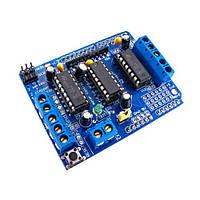 Плата управления двигателями Motor Shield, Arduino