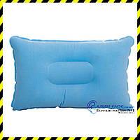Дорожная надувная подушка прямоугольной формы, light blue