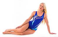 Купальник женский для плаванья синий