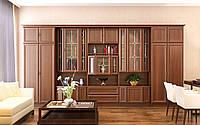 Дива гостиная (Мебель-Сервис) орех 4000х515х2120 мм