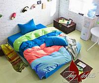 Полуторное постельное поплин Color Mix Color mix APT002