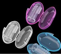 Детская зубная щетка для первых зубов с контейнером