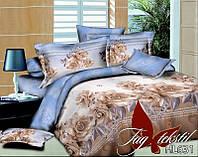 Полуторное постельное поликоттон 3Д Комплект постельного белья 3D HL631