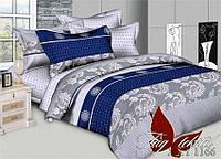 Полуторное постельное поликоттон 3Д Комплект постельного белья XHY1166