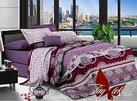 Полуторное постельное поликоттон 3Д Комплект постельного белья XHY065