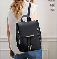 Кожаный портфель женский с клапаном