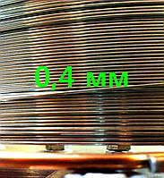Проволока нержавеющая для сигарет д 0,4 мм 50 метров, фото 1