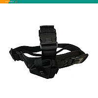 Кобура ПМ набедренная черная с карманом для магазина (019)