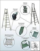 Лестница (стремянка) электроизоляционная стеклопластиковая ССО-1,5-2
