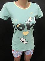 Турецкие пижамы из хлопка на лето., фото 1
