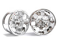 (08008n) chrome rims 2p