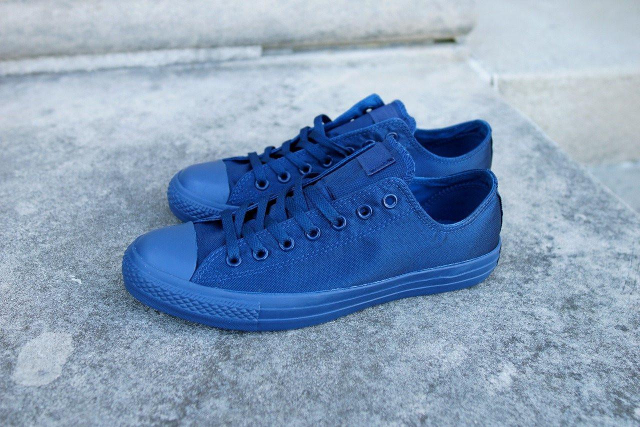 3940f5cf7659 Кеды мужские Converse Chuck Taylor All Star Low Mono Blue (реплика) - Обувь  и