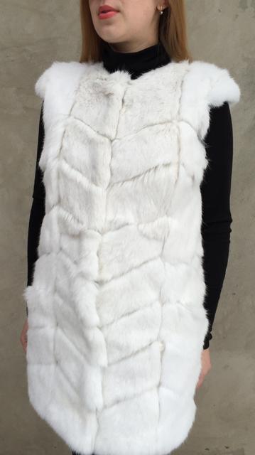 Изделия из натурального меха кролика.