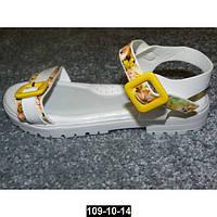 Лаковые босоножки на тракторной подошве для девочки, супинатор, кожаная стелька, 31-35 размер