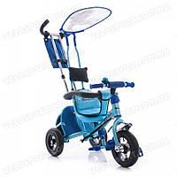 Детский трехколесный велосипед Azimut Trike BC-15 AN SAFARI AIR (с надувными колесами) Неинтегрированная, цвет синий (слон)