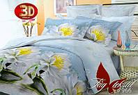 Семейное постельное белье поликоттон 3D Комплект постельного белья BL7966