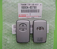 Toyota - remote smart key 433Mhz, 2 кнопки LAND CRUISER 200