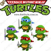 """Конструктор Черепашки-Ниндзя - """"Turtles Constructor"""" - 4 шт., фото 1"""