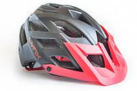 Шлем велосипедный LYNX Chamonix black red, фото 1