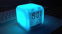 """Будильник - часы """"Хамелеон"""" с подсветкой, фото 1"""