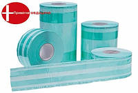Рулоны со складкой для паровой и ЕО стерилизации Steridiamond / 300 мм х 80 мм х 100 м, фото 1
