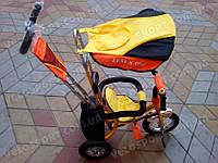 Детский трехколесный велосипед Azimut Trike BC-15B AIR (с большими надувными спицованными колёсами)