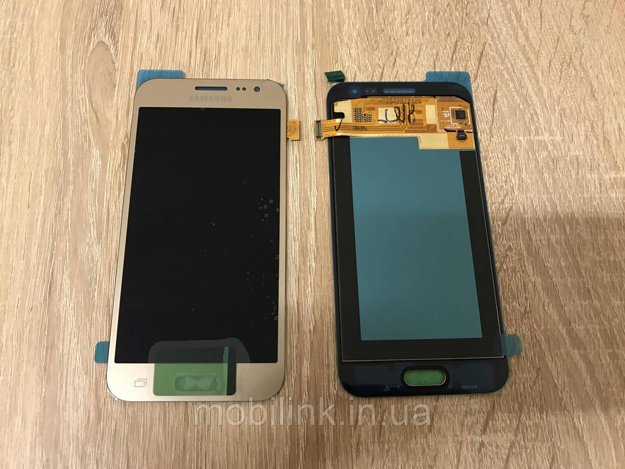 Дисплей на Samsung J200 Galaxy J2 Золото(Gold), GH97-17940B, Super AMOLED!
