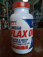 Купить SAN Omega Flax Oil, 100 softgels