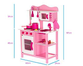 Деревянная кухня для детей Classic Pink, фото 2