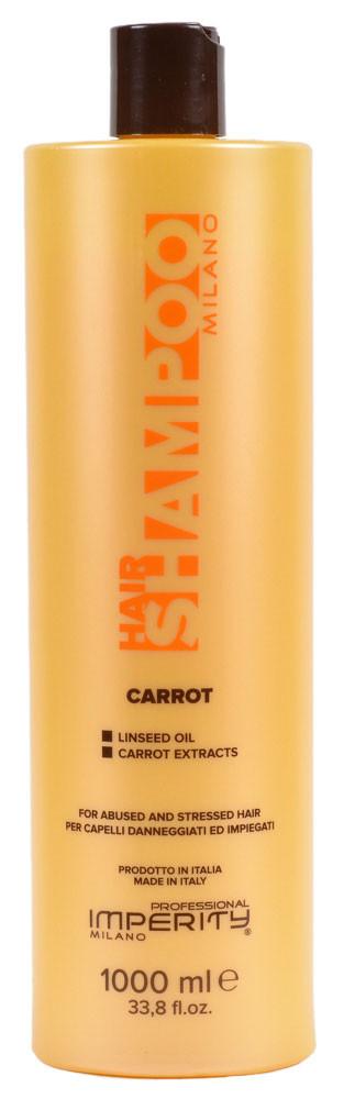 Шампунь Imperity Milano Carrot для ослабленных волос 1000мл