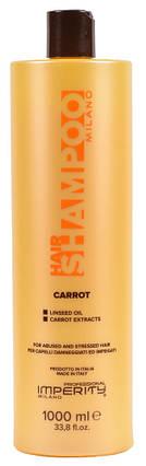 Шампунь Imperity Milano Carrot для ослабленных волос 1000мл, фото 2