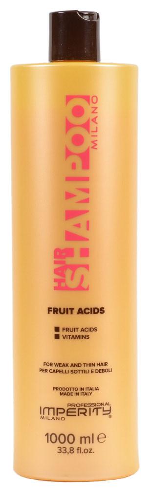 Шампунь Imperity Milano Fruit Acids для истонченных и ломких волос 1000мл