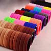 Резинки для волос  цветная Ø4 см 50 шт.