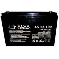 Гелевий акумулятор Alva AS 12-100 (12 В 100 А*год)