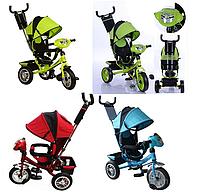 Велосипед детский трехколесный с фарой и ключом зажигания M 3115 -3HA 4HA, 5HA, 6HA, 8HA