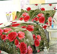 Комплект постельного белья двухспальный 180*220 хлопок (1642) TM KRISPOL Украина