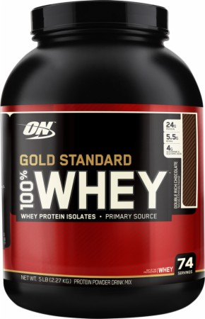 Сывороточный протеин Optimum Nutrition - Gold Standard 100% Whey (2270 грамм) *** (2270 г), banana-cream/банан-сливки, банка
