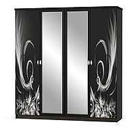 Шкаф 4Д Ева (венге)