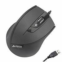 Мышь  A4  N-600X-1 USB  black