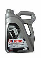 Масло моторное Lotos Diesel Semisynthetic SAE 10W-40 4л