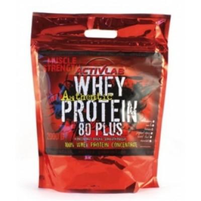 Сывороточный протеин ActivLab - Whey Protein 80 Plus (2000 грамм)