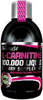 Жиросжигатель BioTech - L-Carnitine 100.000 Liquid (500 мл) вишня