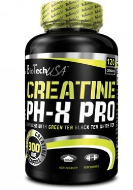 Креатин BioTech - Creatine pH-X PRO (120 капсул)
