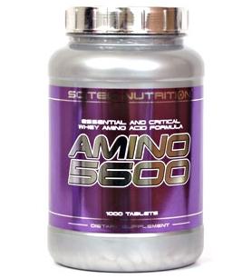 Аминокислоты Scitec Nutrition - Amino 5600 (1000 таблеток)