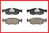 Тормозные колодки передние FERODO Dacia Logan MCV/Pick-up, Logan 2, Renault Sandero 1/2