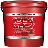 Сывороточный протеин Scitec Nutrition - 100% Whey Protein Professional (5000 грамм) ***